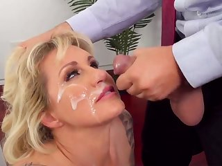 Top mature feels sperm on face check a depart a wild fuck at work