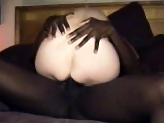 cuckold's wife gets a dark black cock full of juice.