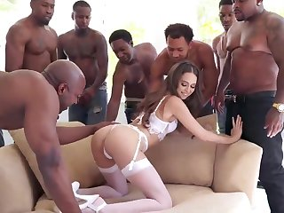 Beamy BLACK COCK Bring about Sex Riley Reid