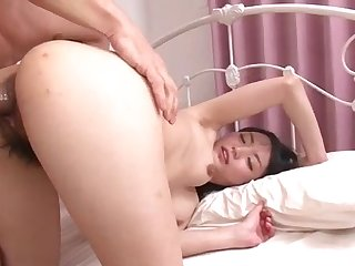 Exclusibe missionary hardcore with a young amateur Asian