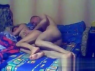 Mature Russian Couple Having Fun Fucking