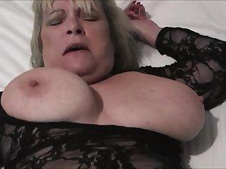Horny amateur blonde MILF Alisha Rydes gives a hardcore sloppy blowjob