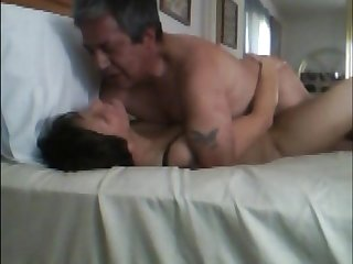 Hidden camera. Watch wife come on my dick