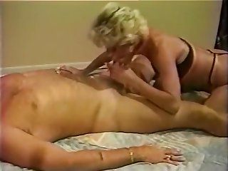 Hank Armstrong does hot older woman in Forty Plus Video Magazine 3 (1997)