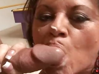 Heavy-Breasted MILF using her boytoy