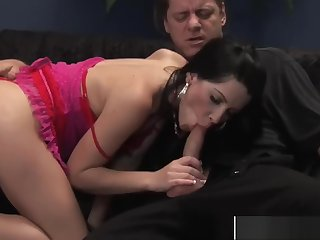 Adorable Stepmom Rebeca Gives Blowjob Cool Tender Sons