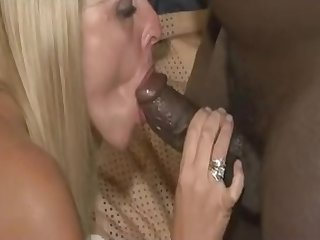 Interracial With Blonde White Woman Milf