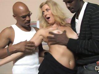 Dana Gets Got Laid By Bbcs - money shot