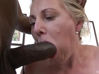 After big vibrator Nicol is ready for a hard fuck with her black friend