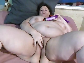 stripping and playing with vibrator
