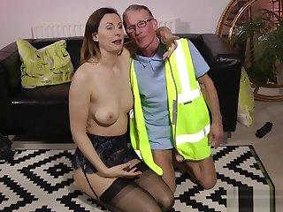 British housewife railed