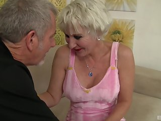 horny dude have a weaknees and desire for blonde milf Dalny Marga
