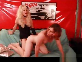 Femdom bonks Her Sissy In The wazoo