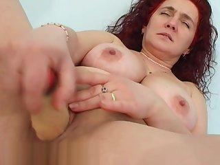 Astonishing sex clip Red Head fantastic show