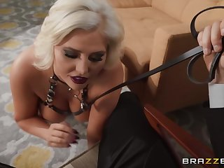 Gorgeous mature Karissa Shannon gets fucked in hardcore style