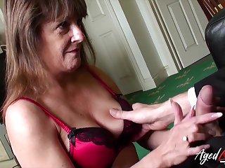 Old widow Pandora gets intimate with one young man living nextdoor