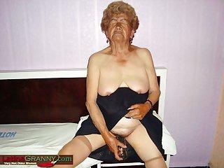 LatinaGrannY Prepared Old Chicks Pics Compilation