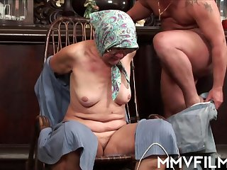 Wrinkle granny hardcore sex with rimming