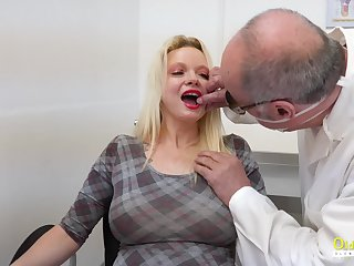 That's what pussy is for and that mature slut has got big succulent tits