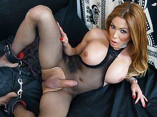 Vanessa Jhons' Creamy Load - TGirlsXXX