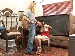Incredible sex video MILF great unique