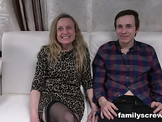 Swinger family in crazy group pussy fuck action