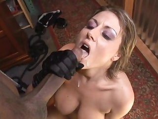 Hardcore interracial punishment for Velicity Von