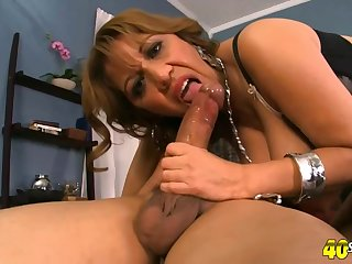 Marisa invited Carlo to her bedroom and asked him to fuck her tight ass hole