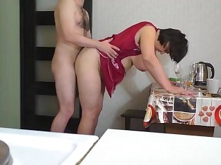 OlaMilash-Mom and Stepson make Love and Anal Sex