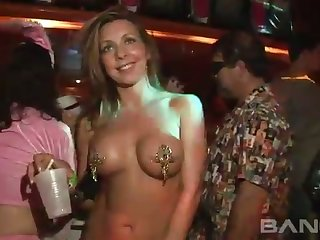 These party sluts can and will expose their killer curves