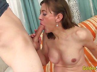 Golden Slut - Older Women Give the Best Blowjobs Compilation
