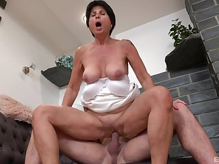 Petra is a lady that is always in the mood to get fucked hard