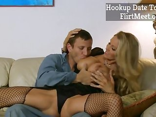Hot MILF Julia Ann Fucks TV repairer