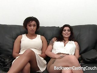 Outstanding Bi-Racial Hefty Ogle 3Some Audition
