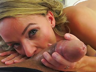 POv cock sucking mom won's stop until eradicate affect carry on with drop