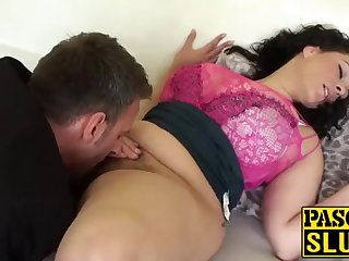 Crazy Anastasia Lux procurement her cootchie tongued and frigged