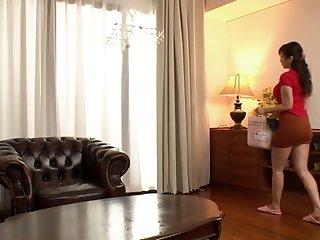 Horny Japanese girl in Incredible Ass, HD JAV video