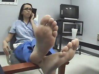 Nurse feet soles