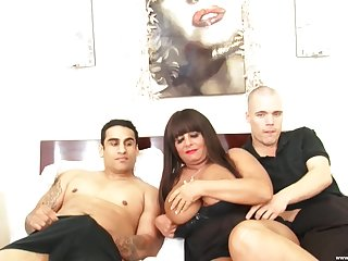 Cassidy C bends over for a dick while choking on an erected tool