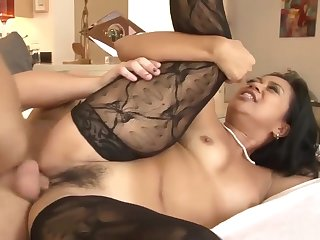 Lucky Starr In Stockings Gets Fucked Hard