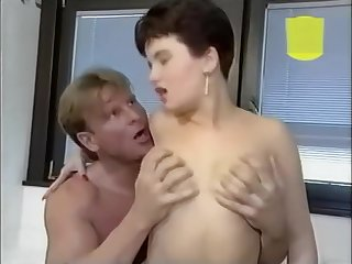 Busty brunette fucking in the bathroom - Julia Reaves