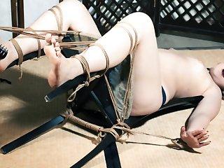 Ticklish for tied up Olga [RussianGirlsInDistress]
