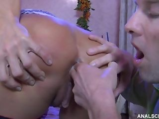 Stellar stocking dressed Russian mature Hanna gets spunk in hatch kick the bucket ass shagging lovemaking freeporn