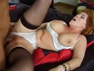 Sharing a mature Big Tits Wife