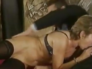 Extreme Vintage DP Anal Water Sports Milfs Pt 5