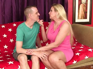 Carla Craves puts a finger on her clit during a sex for the best cum