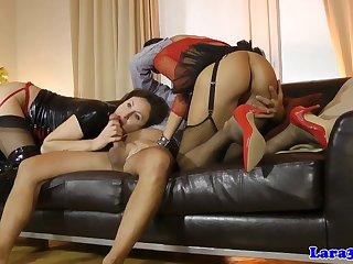 Stockings Brit In Ffm Cockriding With Bum