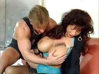 german buxom Gina Colany vintage porn