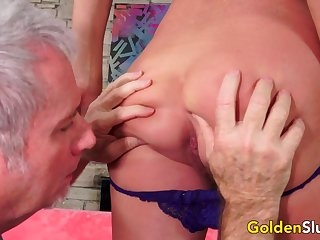 Gorgeous Mature Andi James Gets Drilled