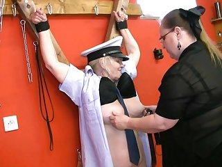 Horny Domination Between Lesbian Grannies - lesbian
